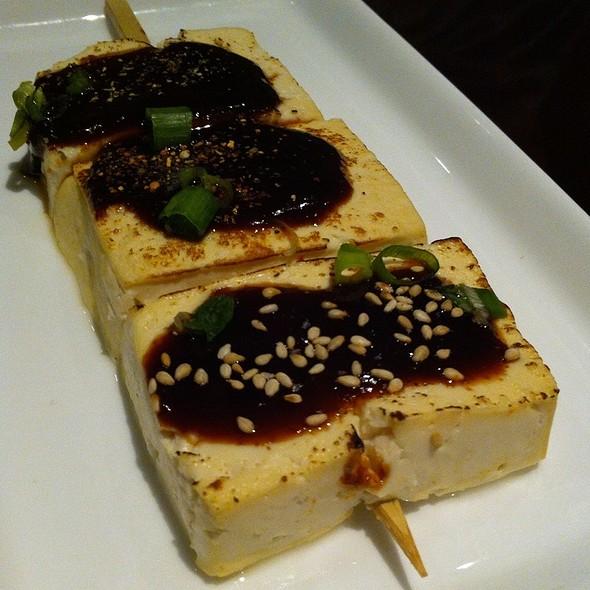 Tofu Dengaku - Kaz Sushi Bistro, Washington, DC