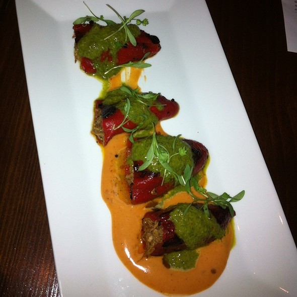 Pork Stuffed Piquillo Peppers @ MAX's Wine Dive - Dallas