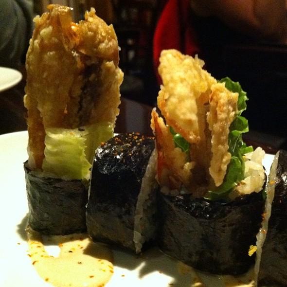 Jumbo Soft Shell Crab Roll - Kaz Sushi Bistro, Washington, DC
