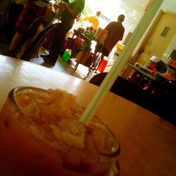 Iced Tea With Milk @ Restoran Hock Thai
