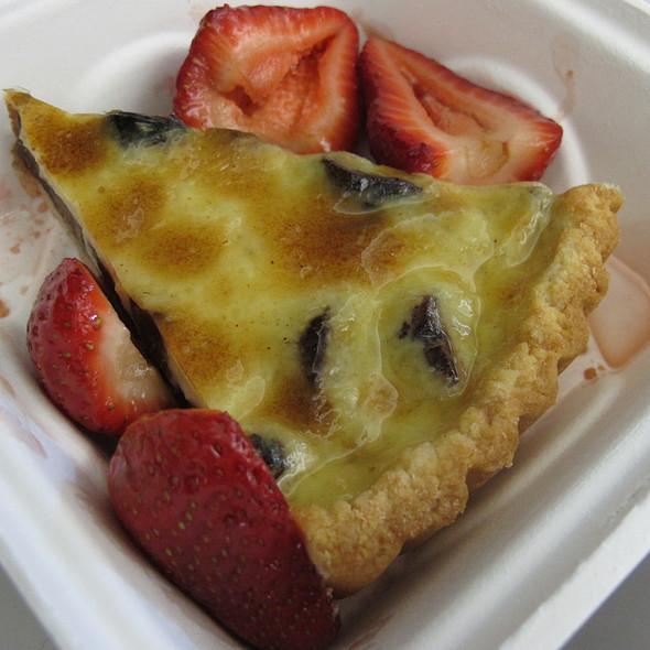 fig rosemary tart @ Dawson's