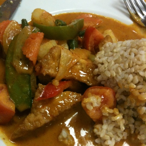 Yellow Curry With Tofu @ Curry Thai