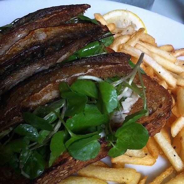 Mackerel fillets @ Sussex Yeoman