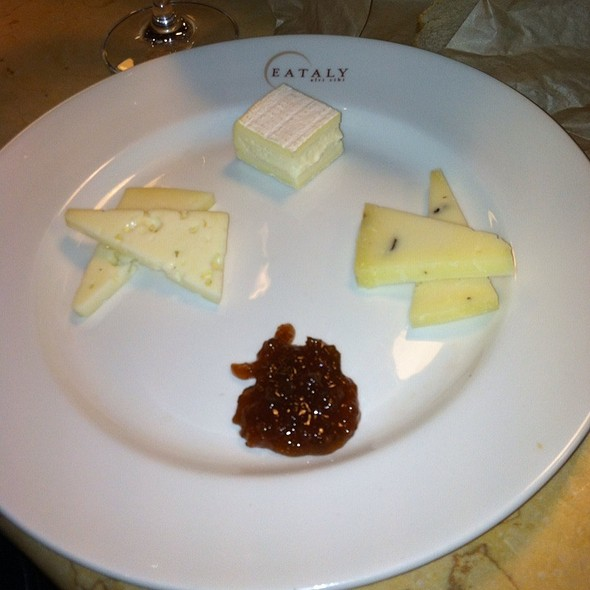Cheese Plate @ La Pasta @ Eataly