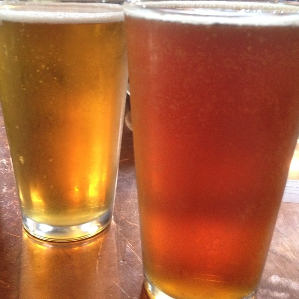 Boomerang & Marzen Beer - Ellicott Mills Brewing Company, Ellicott City, MD