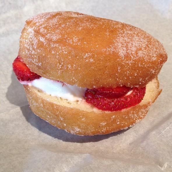 Strawberry & Cream Slider @ Revolution Doughnuts