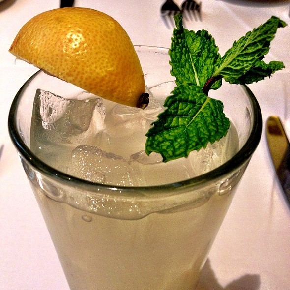 Fresh Squeezed Mint Lemonade - The Capital Grille - Seattle
