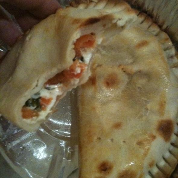 Tomato + cheese empanadas @ Beco