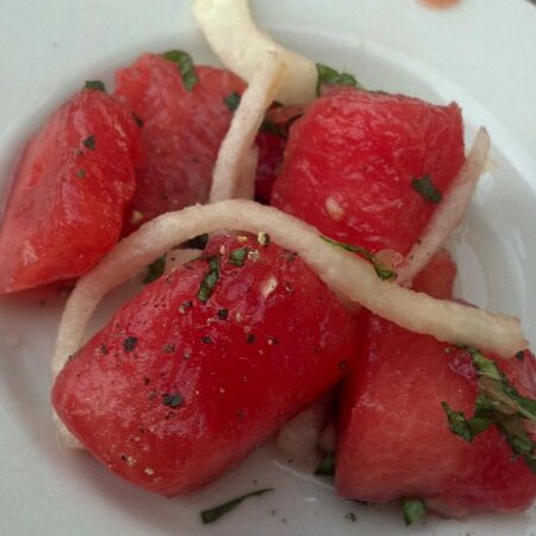 Watermelon Salad @ Kettle Hill Restaurant