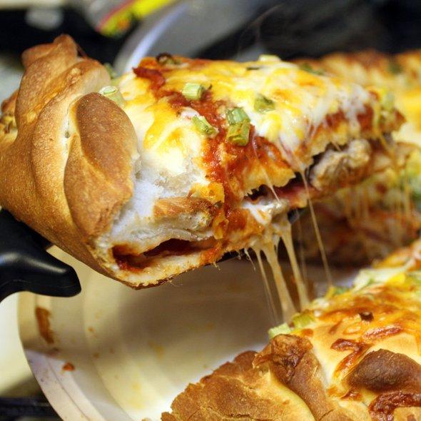 Chicago-Style Stuffed Pizza @ Papa Murphy's Take 'n' Bake