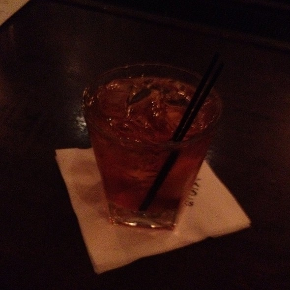 Manhattan with bourbon @ Mccormick & Schmick's