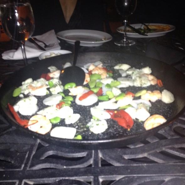 Black Rice Paella @ Socarrat