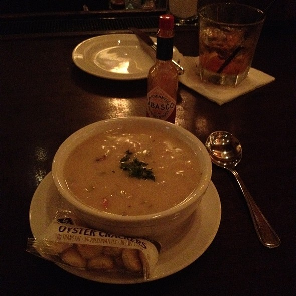New England Clam Chowder @ Mccormick & Schmick's
