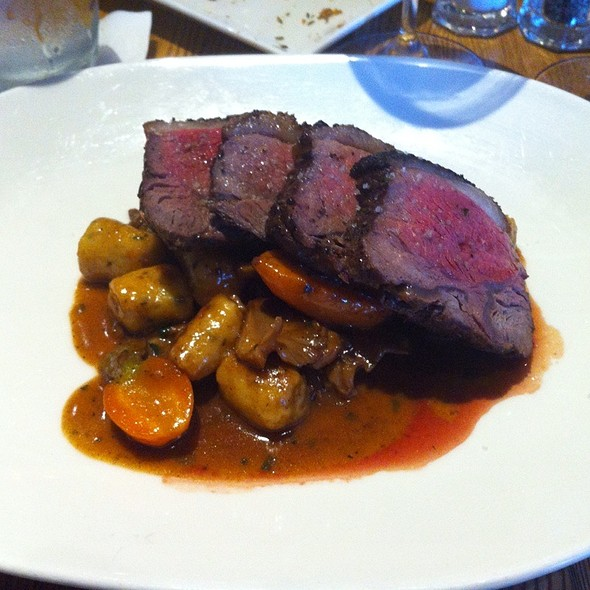 Lamb Sirloin With Goat Cheese Gnocci - Sides Hardware and Shoes - A Brothers Restaurant, Los Olivos, CA