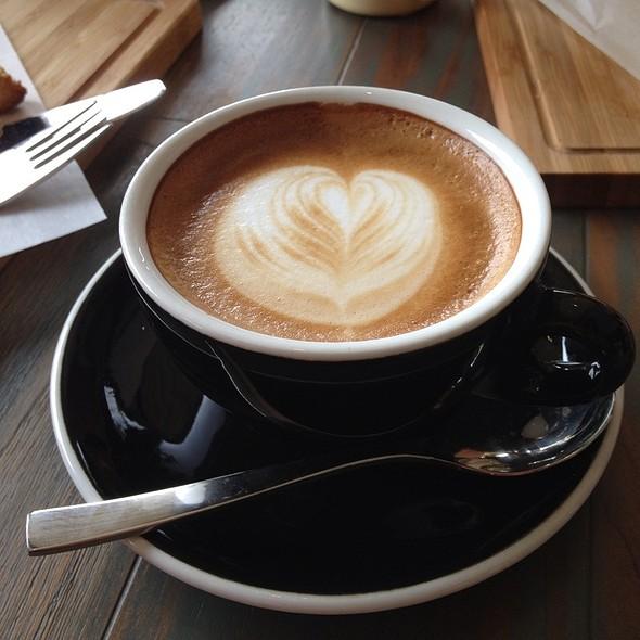 Cappucino @ Blacklisted coffee