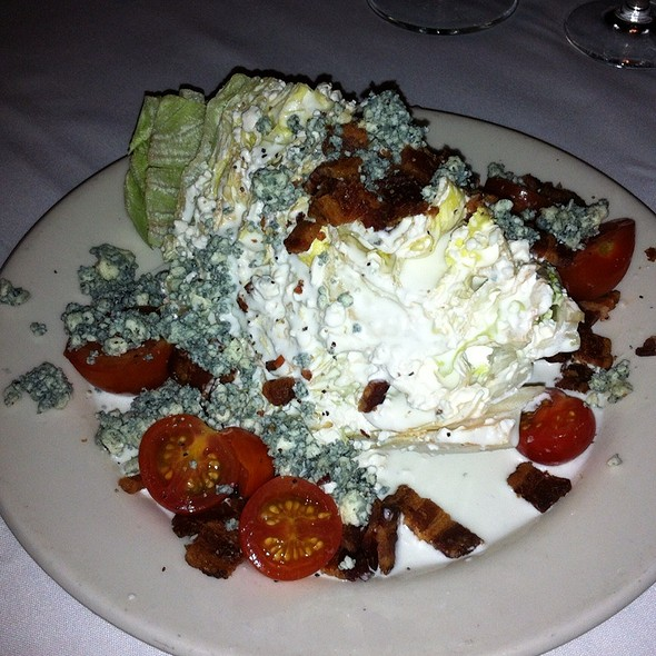 Blue Cheese Lettuce Wedge  - Del Frisco's Double Eagle Steak House - New York City, New York, NY