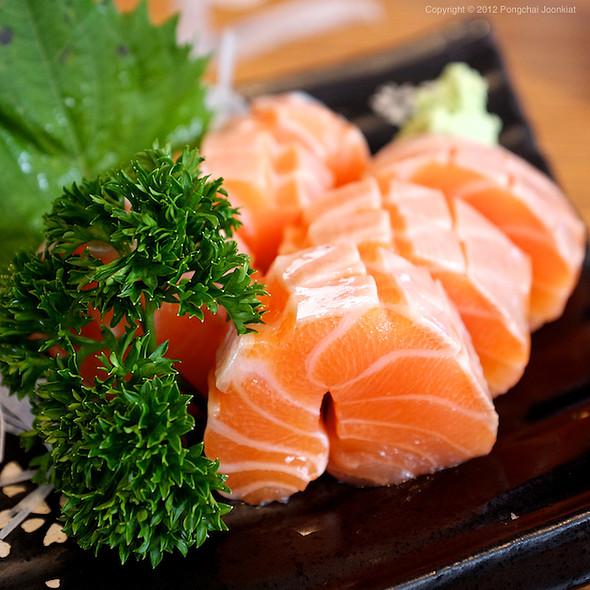 Salmon Sashimi @ Sushi Masa