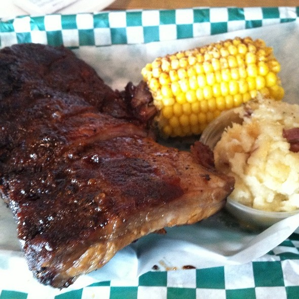 Half Rack Of Ribs @ Sparky's Roadside BBQ