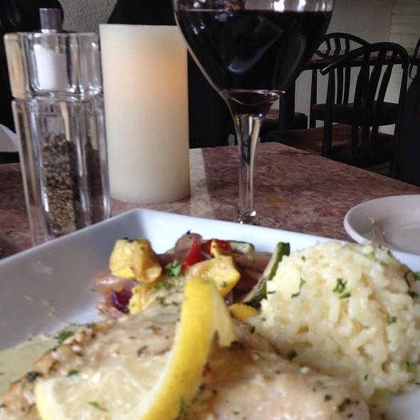 Baked sea bass - La Casa Italian Grill, Alpharetta, GA