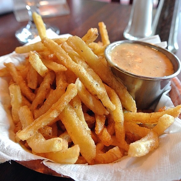 Pommes Frites @ The Belgian Cafe