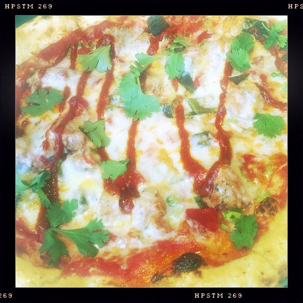Italian Sausage Pizza @ Paisan