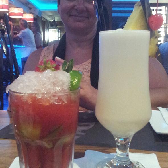 strawberry mochito & pina colada cocktailes @ MedAsia