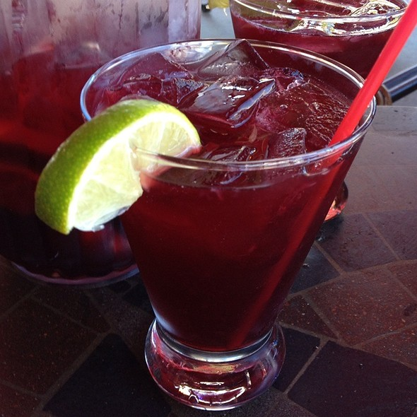 Red Sangria - Canal Bistro - Mediterranean Grill, Indianapolis, IN