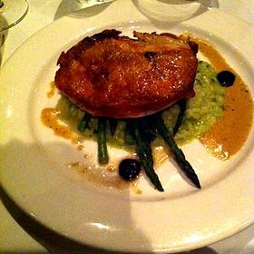 Crispy Skin Chicken - Wine Cask - Santa Barbara, Santa Barbara, CA