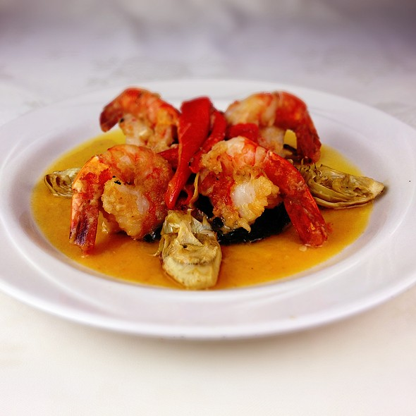 Shrimp Verde - Cornells Restaurant, Schenectady, NY