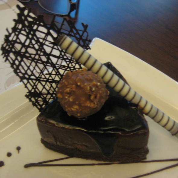 Ferrero Hazelnut Crunch Cake @ Maitre Chocolatier Boutique Cafe
