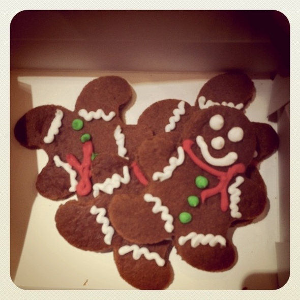 Gingerbread Men Cookies @ Great American Cookie