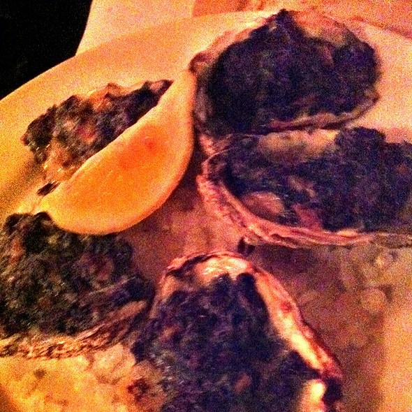 Oysters Rockefeller - Dock's Oyster House, Atlantic City, NJ