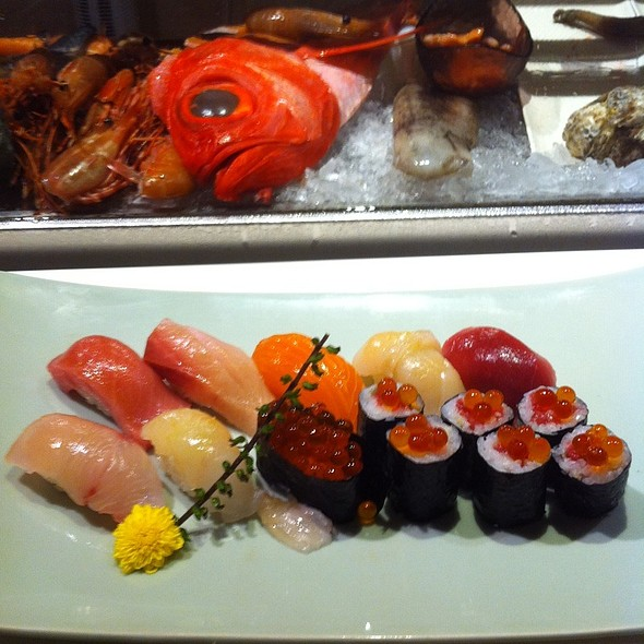 Matsu Sushi Set @ Joushitsu Sushi