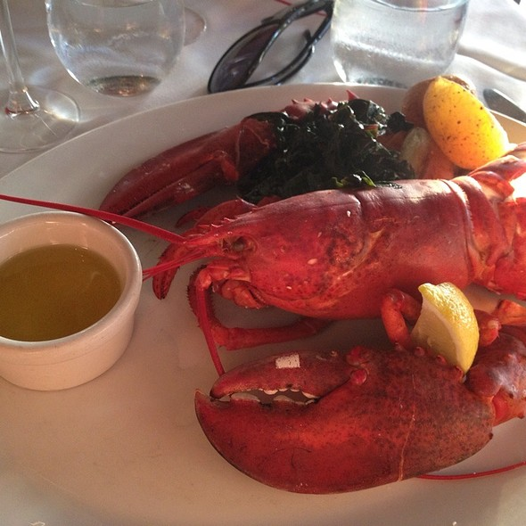 Steamed Maine Lobster @ The Lobster