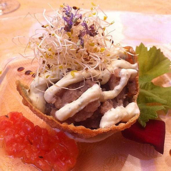 Tuna Tartar With Mint Mascarpone @ Casa Tagoro