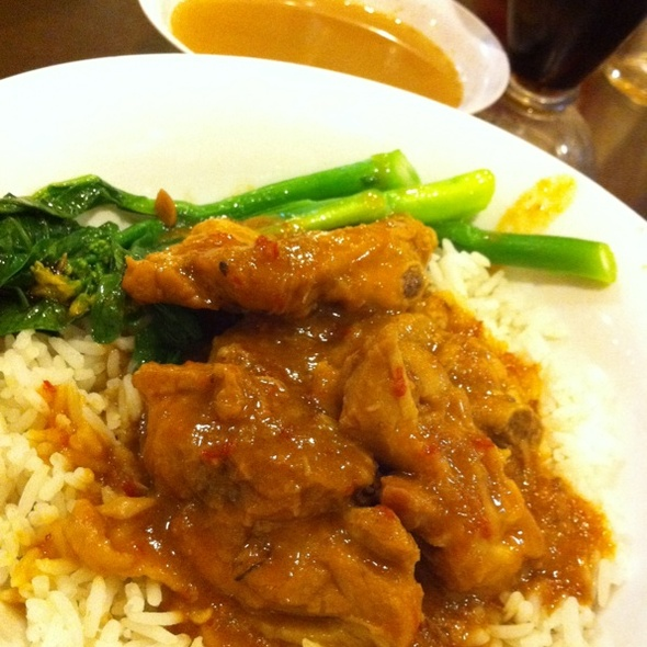 Curry Chicken Rice @ The Bakuteh Place