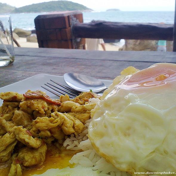 Curry Chicken Over Rice @ Ao Sane Beach