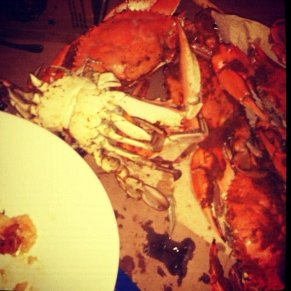 Local Maryland Crabs @ Riptide By The Bay