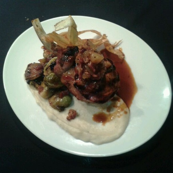 pork chop! @ Columbus Inn