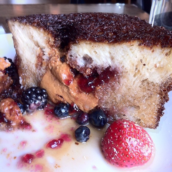 PB&J French Toast - Recette, New York, NY