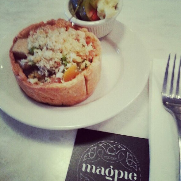 Chicken Tarragon Pot Pie @ Magpie