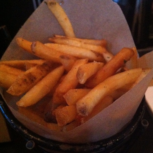Truffle Fries - Blush, Santa Barbara, CA