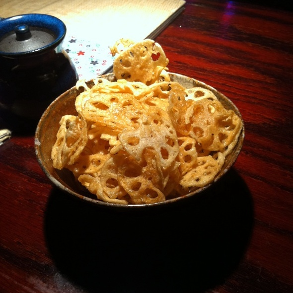 Lotus Root Chips @ Nami Nami