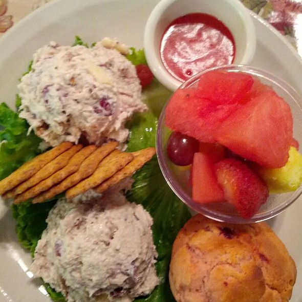 Chicken Waldorf Salad @ Secret Garden Restaurant