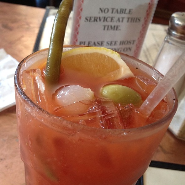Spicy Bloody Mary @ Pier 23 Cafe