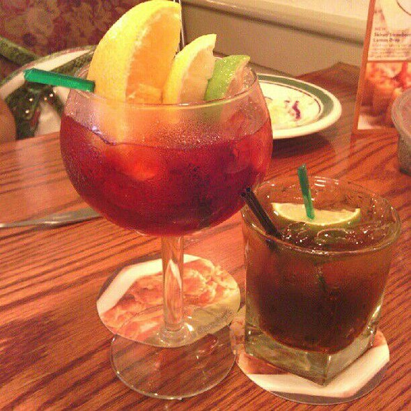 Long Island Iced Tea At Olive Garden In Springfield, NJ