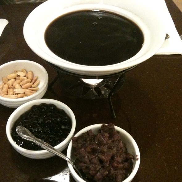Hot Grass Jelly @ Tri-Ty Cafe