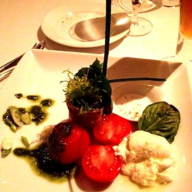 Heirloom Tomato, Arugula & Burrata Salad - Geronimo, Santa Fe, NM