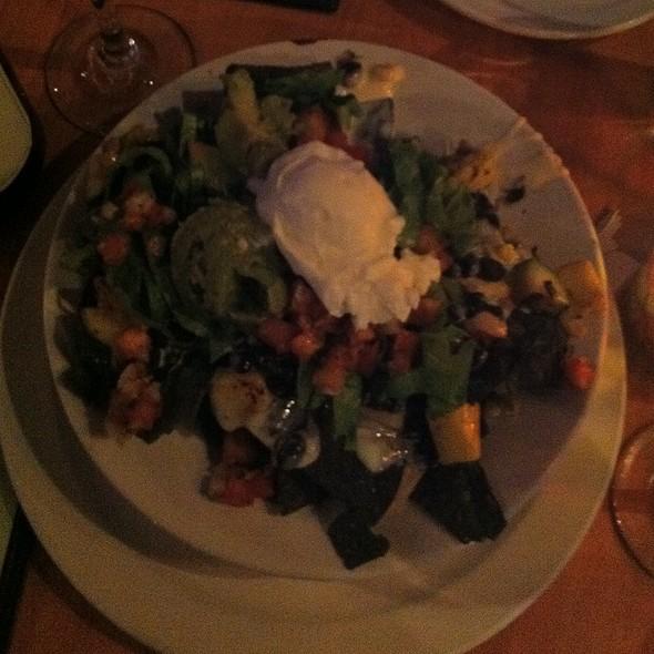 Vegetarian Nachos @ Zada Jane's Corner Cafe