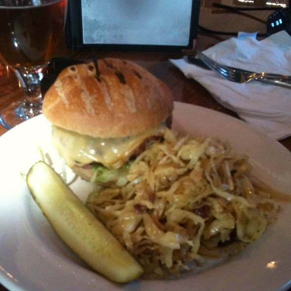 Ham-Burger @ Against the Grain Brewery and Smokehouse